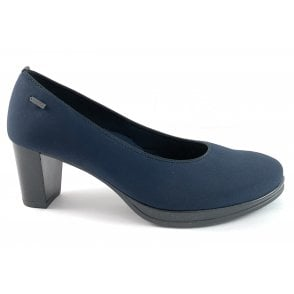 12-13435 Orly Highsoft Navy Gore-Tex Court Shoe