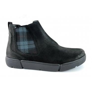 12-14441 Rom HighSoft Black Leather Chelsea Boot