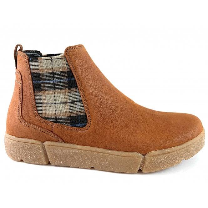 Ara 12-14441 Rom HighSoft Tan Leather Chelsea Boot