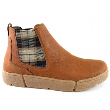 12-14441 Rom HighSoft Tan Leather Chelsea Boot