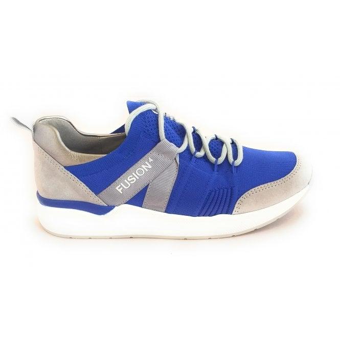 Ara 12-14681 LA Fusion 4 Electric Blue Trainer