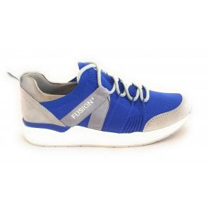 12-14681 LA Fusion 4 Electric Blue Trainer