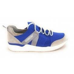 12-14681 LA Fusion 4 Electric Blue Trainer