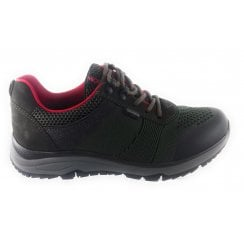 12-16020 Tirol Fusion 4 Forest Green Gore-Tex Trainer