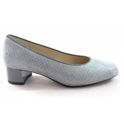 12-16601 Vicenza High Soft Grey Court Shoe