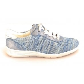 12-18136 Chicago Fusion 4 Blue and Silver Trainer