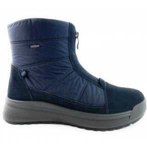 12-19749 Aspen Navy Gore-Tex Front Zip Boot
