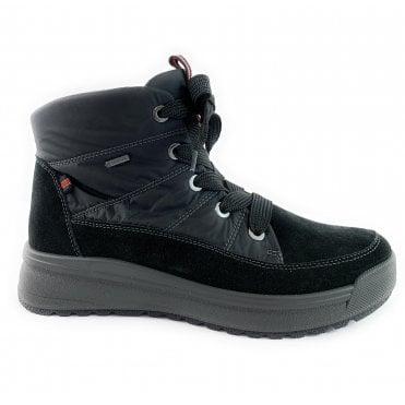12-19751 Aspen Black Gore-Tex Lace-Up Boot