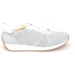 12-24027 Lissabon Fusion Light Grey Trainers
