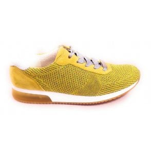 12-24069 Lissabon Fusion Yellow Trainers