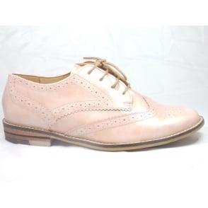12-31210  Kent Rose Pink Patent Lace-Up Brogue