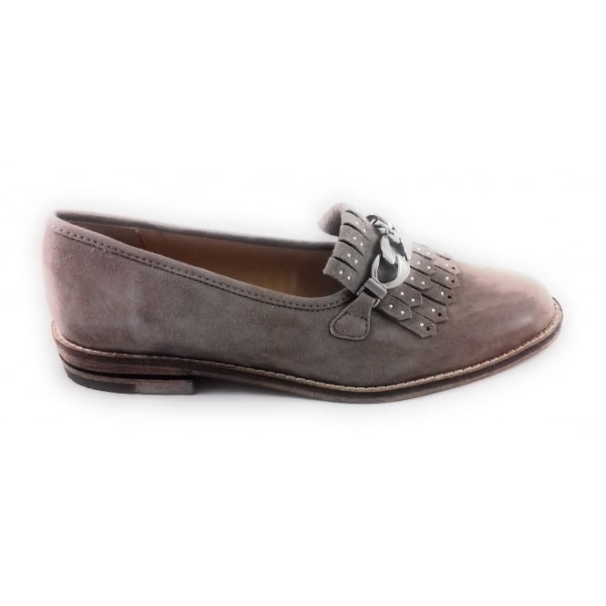 Ara 12-31266 Kent Taupe Suede Loafer