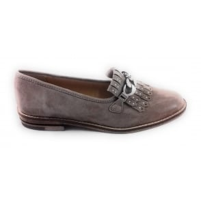 12-31266 Kent Taupe Suede Loafer