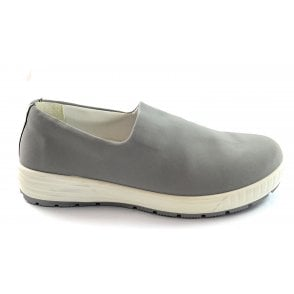 12-39407 Nagano Grey Textile Slip-On Casual Shoe