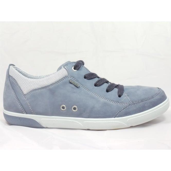 Ara 12-39636 Sanibel Denim Blue Leather Gore-Tex Casual Lace-Up Shoe