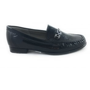 12-42234 Ara New Jersey Black Patent Loafer