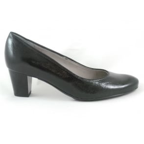 12-43470 Toulouse Black Patent Court Shoe