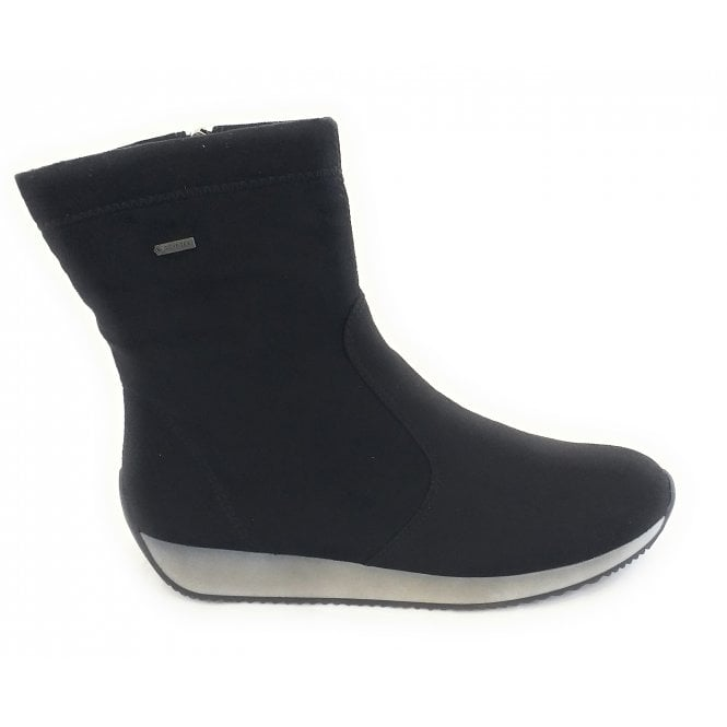 Ara 12-44037 Lisssabon Black Warerproof Gore-Tex Boot