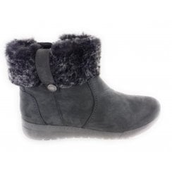 12-44933 Dakota Grey Nubuck Ankle Boot