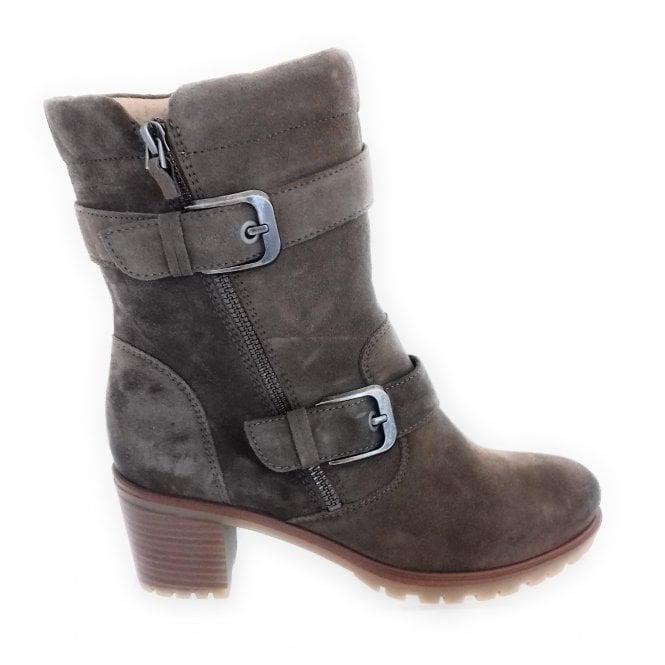 Ara 12-47368 Mantova Light Brown Nubuck Ankle Boot