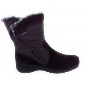 12-48562 Munchen Burgundy Gore-Tex and Microfibre Boot