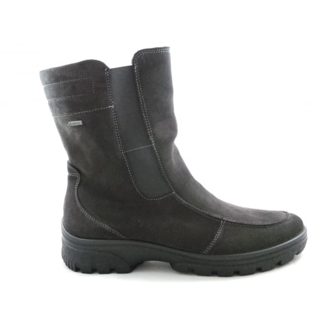 Ara 12-49340 Saas-Fee Dark Grey Gore-Tex Ankle Boot
