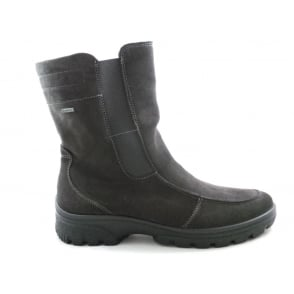 12-49340 Saas-Fee Dark Grey Gore-Tex Ankle Boot