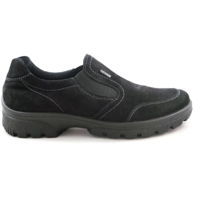 Ara 12-49346 Saas-Fee Black Gore-Tex Casual Shoe