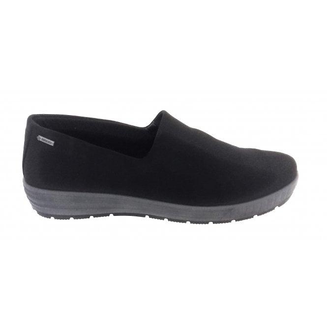 Ara 12-49444 Nagano Black Gore-Tex Slip On Shoe