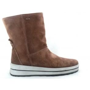 12-49758 St Anton Tan Gore-tex Ankle Boot