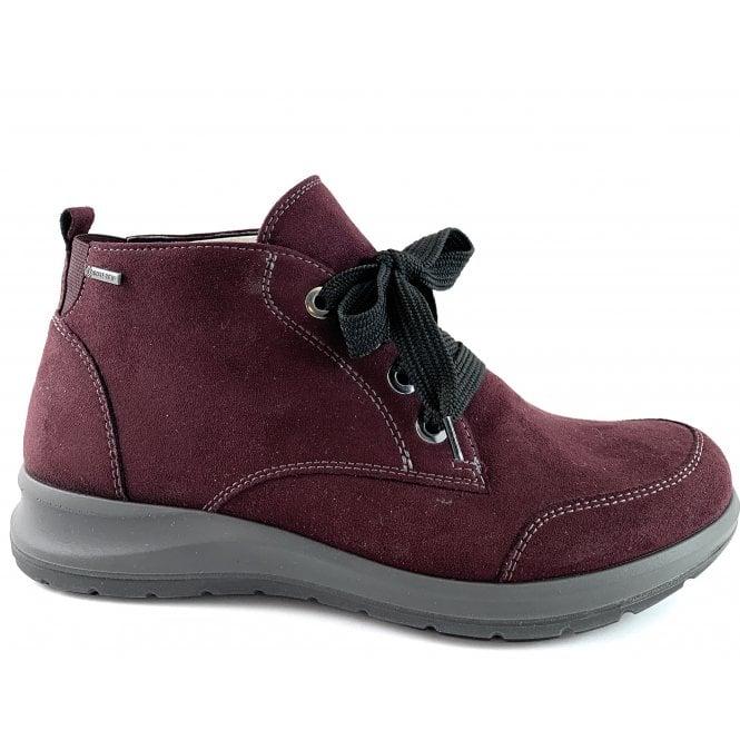 Ara 12-49819 Tokio Burgundy Gore-Tex Lace-Up Boot