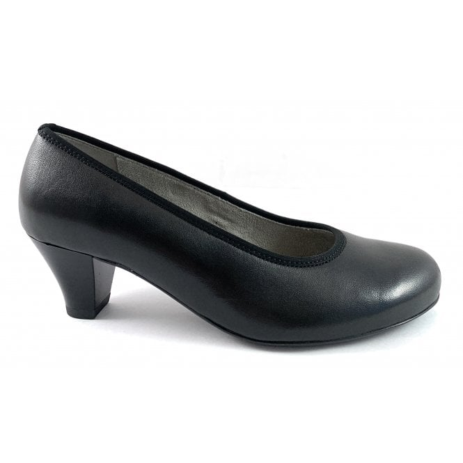 Ara 12-54220 Auckland Black Court Shoe