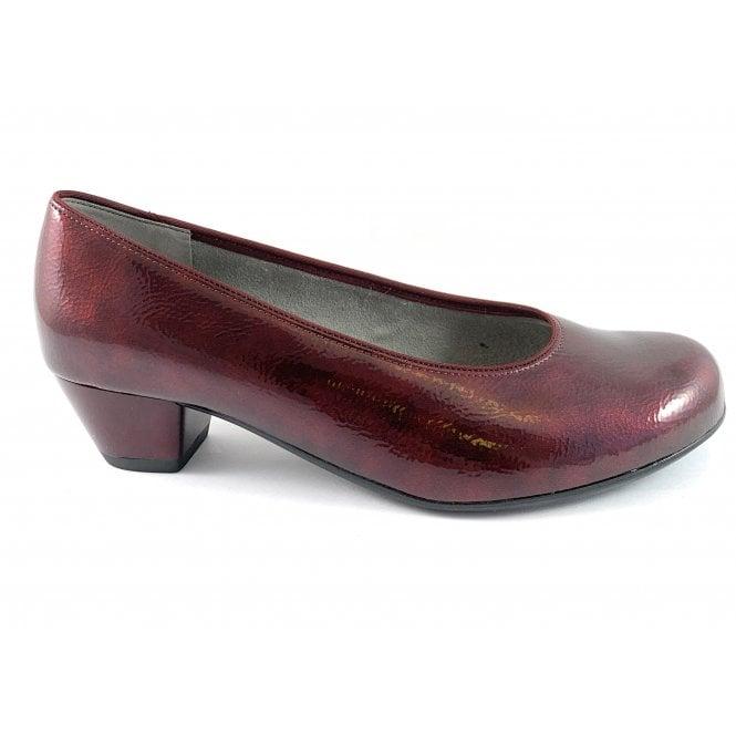 Ara 12-63619 Catania Burgundy Patent Court Shoe