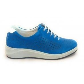 13000GT Fenix Blue Leather Casual Shoe