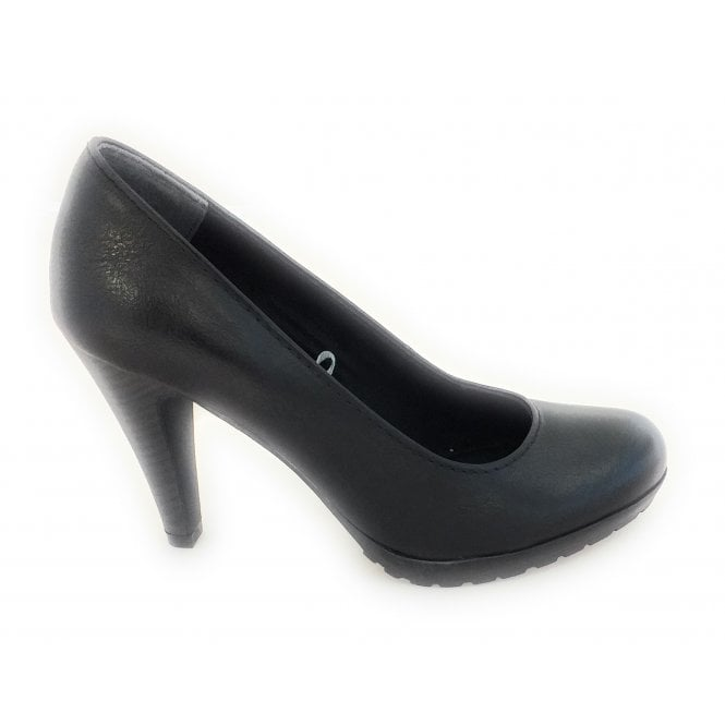 Marco Tozzi 2-22406 Black Court Shoe