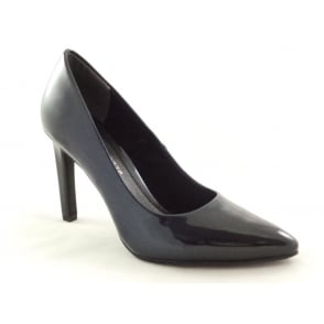 2/22423/29 Metato Navy Patent Court Shoe
