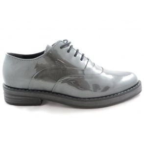 2/23723/29 Elba Pewter Patent Lace-Up Shoe
