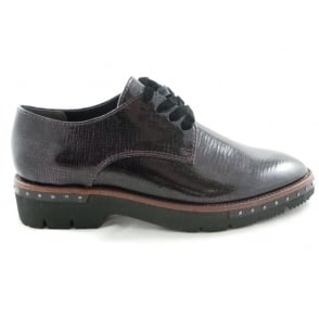 2/23729/39 Lizza Burgundy Patent Lace-Up Shoe
