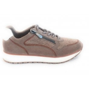 2-23752 Pogna Taupe Trainers