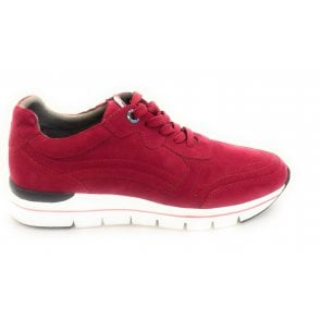 2-23771 Earth Edition Bosa Red Trainers