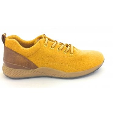 2-23780 Lopi Yellow Merino Wool Trainer