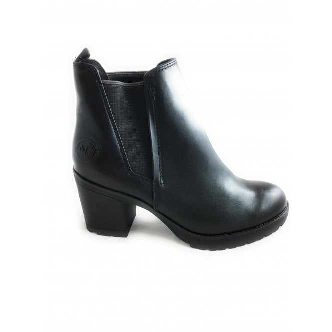 Marco Tozzi 2-2414 Womens Black Heeled Chelsea Boot