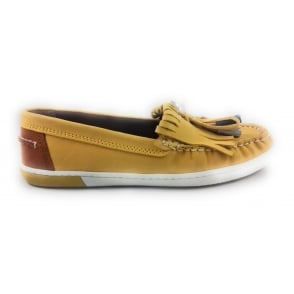 2/24610/28 Yellow Leather Loafer