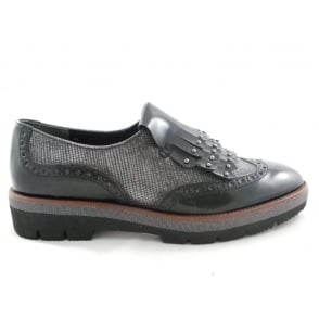 2/24703/39 Lizza black And Pewter Loafer