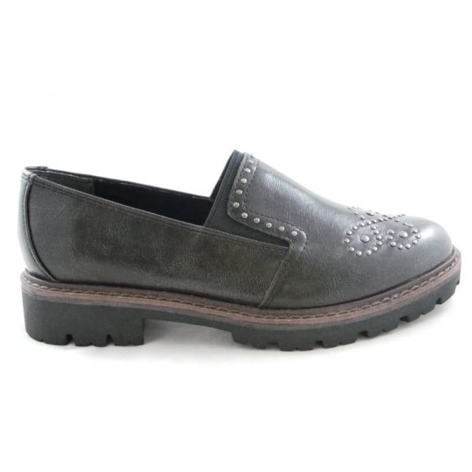 Marco Tozzi 2/24705/29 Bargni Ladies Grey Loafer