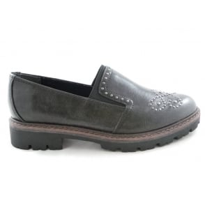 2/24705/29 Bargni Ladies Grey Loafer