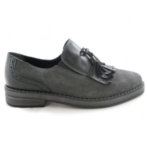 2/24721/29 Elba Dark Grey Leather Loafer