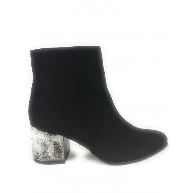 1b02ebf63b60 Marco Tozzi 2-25016 Womens Black Ankle Boot - Marco Tozzi from  size4footwear.com UK