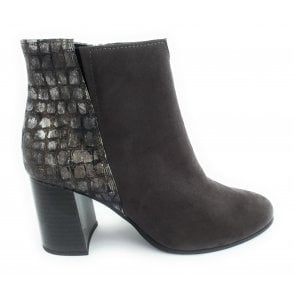 2-25022 Grey Ankle Boot