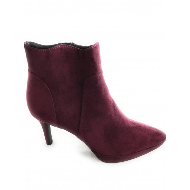 Marco Tozzi 2-25027 Burgundy Ankle Boot